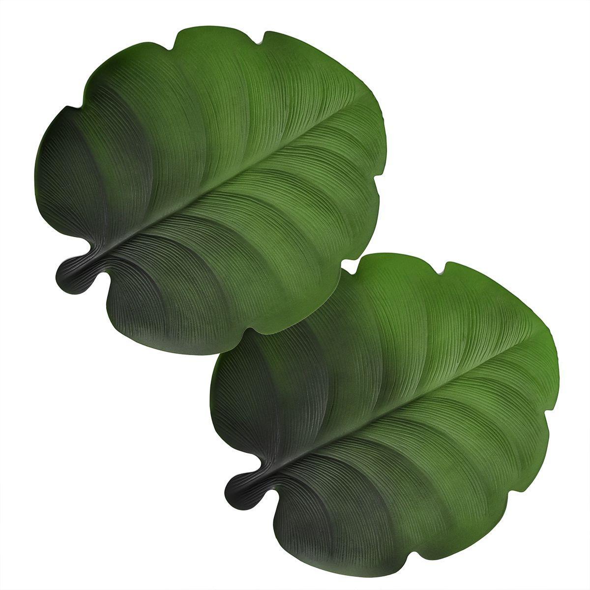 Подставки под горячие тарелки в виде листьев Калатеи