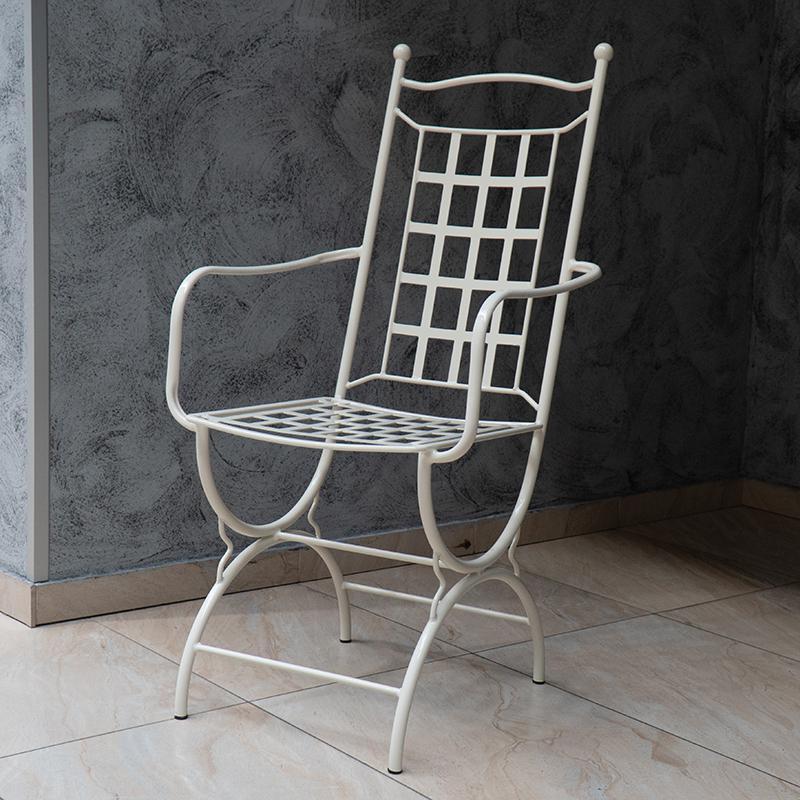 Кресло с подлокотником кремовое Villa Grazia