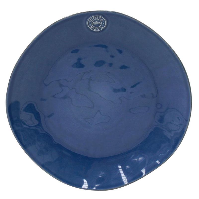 Тарелка подставная синяя Nova, набор 6 шт.