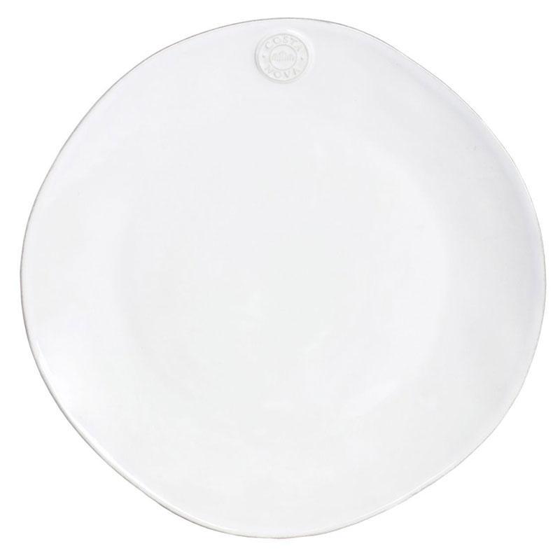 Подставная тарелка белая Nova, набор 6 шт.