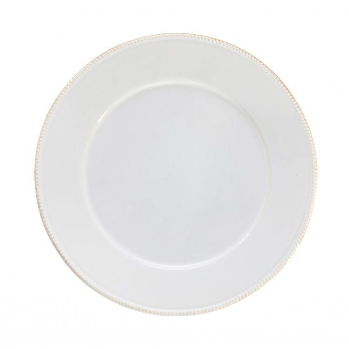 Тарелка подставная Costa Nova Luzia белая 34 см