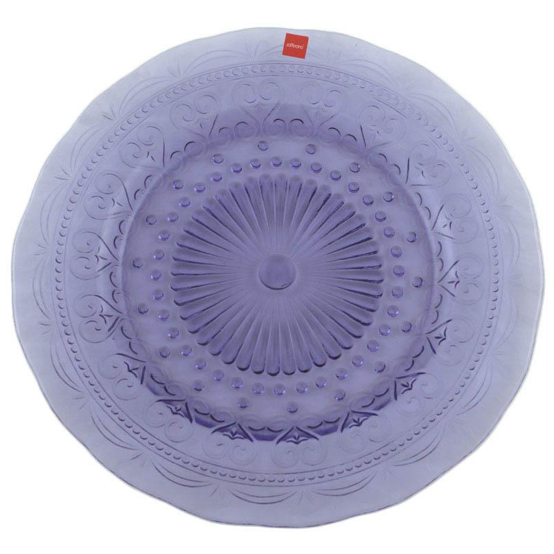 Тарелка подставная фиолетовая