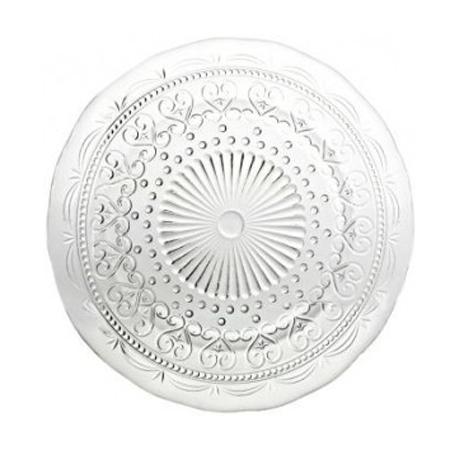 Тарелка обеденная прозрачная