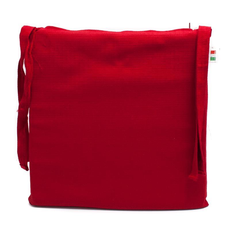 Подушка для стула красная