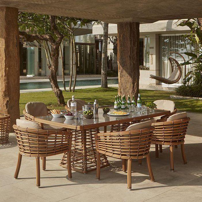 Комплект мебели для обеденной зоны Villa Natural Mushroom