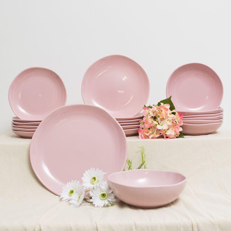 Сервиз розовый на 6 персон Comtesse