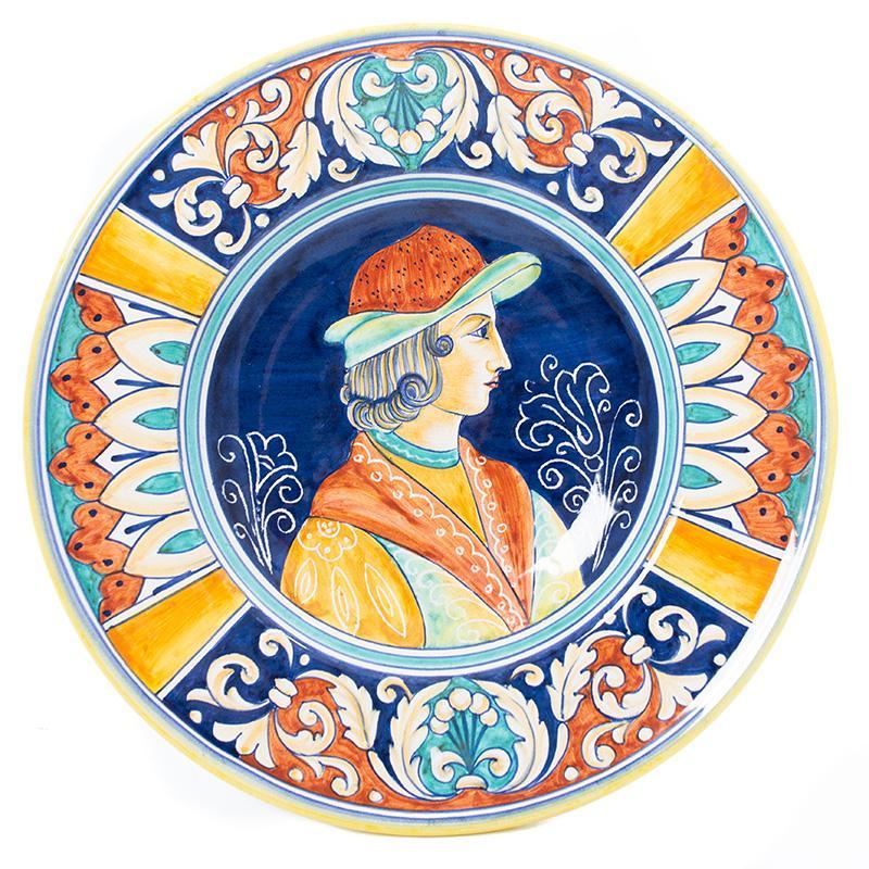 Декоративная тарелка в старинном стиле Museo Plate