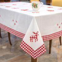 Набор скатерть и салфетки Blanc