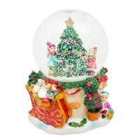 Музыкальная шкатулка Шар со снегом