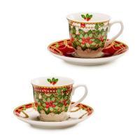 """Чашка для кофе с блюдцем, набор 2 шт. """"Исполнение желаний"""""""