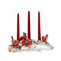 """Подсвечник на три свечи """"Рождественские эмоции"""""""
