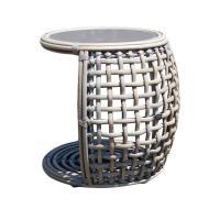 Плетеный приставной столик из ротанга Dynasty Kubu Mushroom