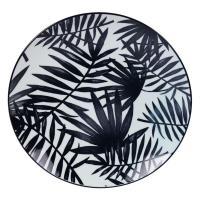 Тарелка обеденная с изображением листьев Bastide