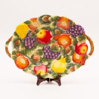 Новогодняя фруктовница
