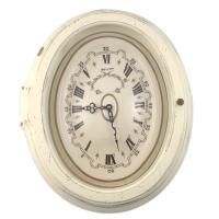 Часы старинные настенные белые