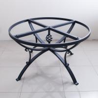 База для круглого стола графит