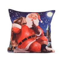 "Наволочка с рождественским рисунком ""Тихий Санта"" XMas"