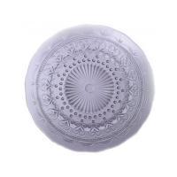 Тарелка обеденная фиолетовая