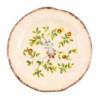Тарелка десертная ручной работы с рисунком Melograno