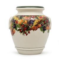 Керамическая ваза с изображением фруктов Le Primizie