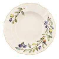 """Тарелка для супа """"Оливы и маслины"""""""