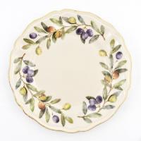 """Тарелка обеденная """"Оливы и маслины"""""""
