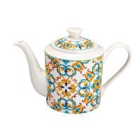 Заварник для чая фарфоровый с узором Medicea