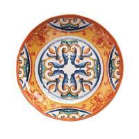 Тарелка для супа с оранжево-синим орнаментом Medicea