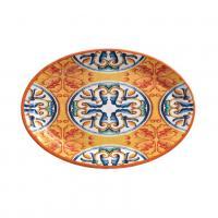 Блюдо овальное ярко-оранжевое из меламина Medicea