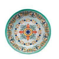 Тарелка суповая цвета морской воды из меламина Medicea