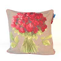 Наволочка Букет красных роз