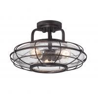 Потолочный светильник Connell 3 в стиле лофт
