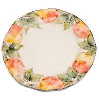 Тарелка обеденная Персики