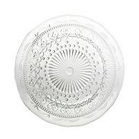 Тарелка стеклянная десертная