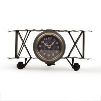 Часы в виде самолета в стиле лофт Amelia Loft Clocks & Co