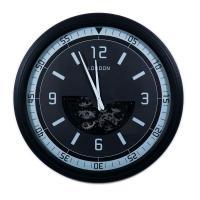 Настенные часы черные в современном стиле Wallis Skeleton Clocks