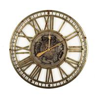Часы настенные большие в стиле стимпанк Farnham Skeleton Clocks