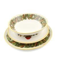 "Комплект тарелок ""Яркое Рождество"""