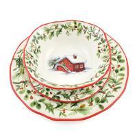 """Комплект тарелок """"Лесная сказка"""""""