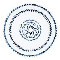 Обеденная тарелка с узором Hermosa