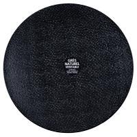 Тарелки черные 27 см, 6 шт