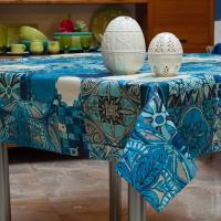 Скатерть Azulejos с акриловой пропиткой