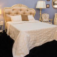 Покрывало бежевое Bruna Villa Grazia Premium
