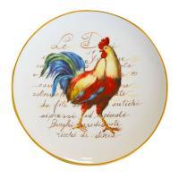Большая тарелка для декора и пасхальной сервировки «Праздничный петушок»