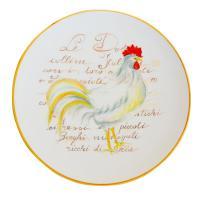 Настенная и сервировочная тарелка с пасхальным рисунком «Красный гребешок»