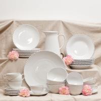 Сервиз столовый белый Pearl