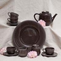 Сервиз чайный с тортовницей Фантазия