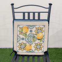 "Подушка для стула ""Лайм"" Villa Grazia Premium"