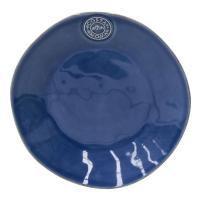 Синяя десертная тарелка Nova