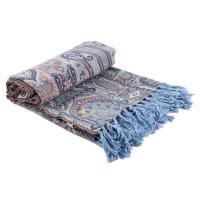 Плед пастельно-голубого цвета Persian Touch Pastel